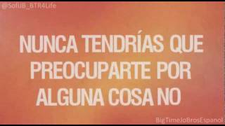 Big Time Rush - If I Ruled The World (Letra en Español)