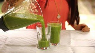 Зеленый коктейль - рецепт