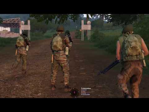 "Arma 3 38-men mission, ""The Medina Offensive"""