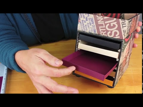 How to Make a Paper Drawer