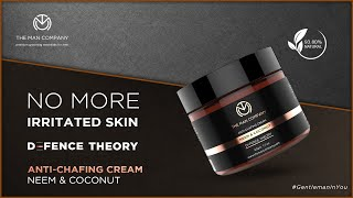 Anti-Chafing Cream | How to prevent underarm or thigh chafing | Defence Theory- The Man Company