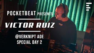 DJ set: Victor Ruiz live @ Verknipt ADE Day 2 | Tracklist included | Best techno music