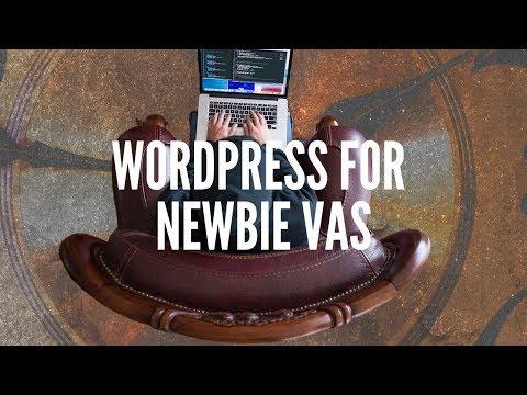 Getting familiar with WordPress: tutorial for newbie VAs