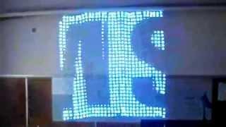 Гибкий светодиодный экран-сетка(IP67 Всепогодный.Гибкий.Прозрачны.Иллюминация стен,домов,сцен,машин и т.д., 2014-06-20T08:05:46.000Z)