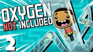 Oxygen Not Included Gameplay Highlights