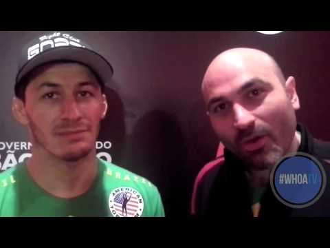 Fight Night Sao Paulo Post-Fight interview Rashid Magomedov