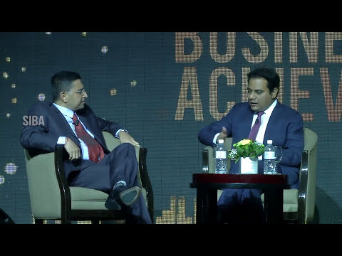 KTR Panel Discussion at SIBA Awards 2016 - South Indian Business Achievers Awards | Singapore