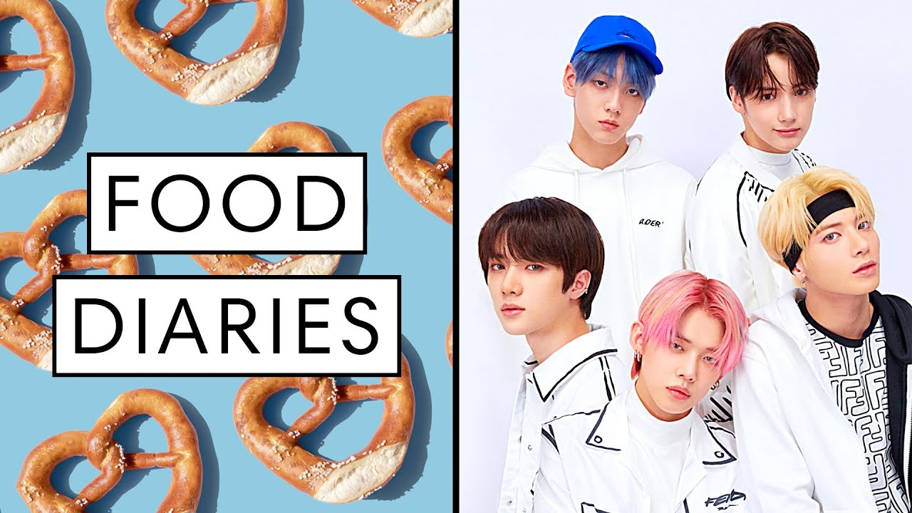 Everything K-pop Band TXT Eats in a Day | Food Diaries: Bite Size | Harper's BAZAAR