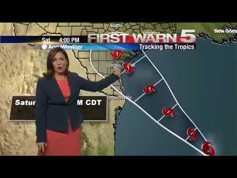 Thursday's Weather - 6 a.m.