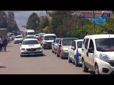 İYİ Parti Adıyaman Milletvekili Adayı Bozkurt'a Görkemli Karşılama
