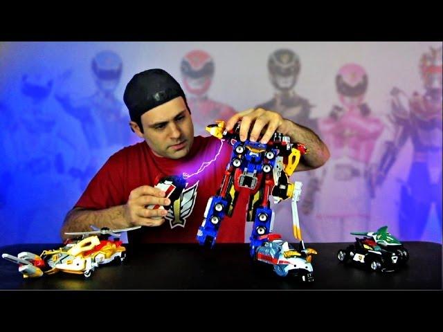 Combine GoBuster & GoOnger? MEGAFORCE Revealed! New Samurai Toys!