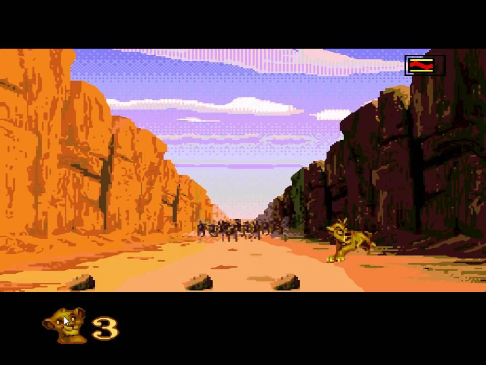 The Lion King Sega Part 4 The Stampede Youtube