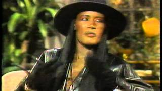 Grace Jones & Billy Dee Williams on Nightlife 1986 Pt 1