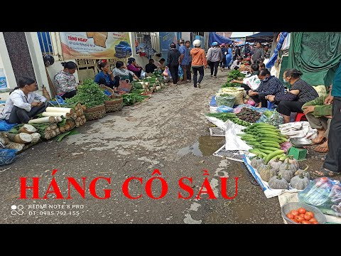 Khám Phá Chợ Phiên HÁNG CÔ SẦU - Cao Bằng. Du Lịch Khám Phá Chợ Phiên Cao Bằng Quê Hương Tôi