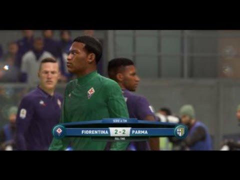 FIFA 19 career mode Fiorentina vs Parma highlights