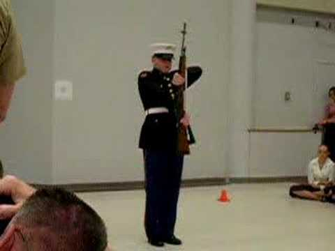 rifle spinning how to They use flags, sabres, and dummy rifles, which they toss, twirl, and spin, often dropping said equipment they usually wear a different outfit than the band.