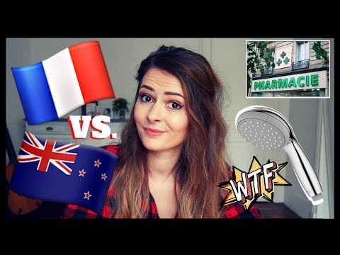 FRENCH CULTURE SHOCKS | 10 random first impressions | Kiwi e
