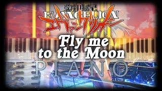 Fly me to the Moon - Fragrance99 (Evangelion OST) | Jazz Piano Cover