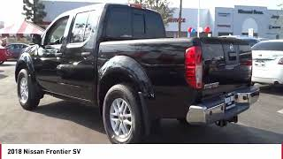 2018 Nissan Frontier SV New 18N0789