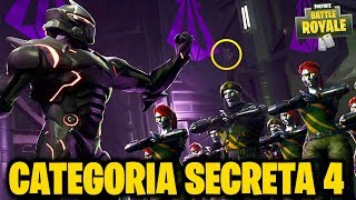 Fortnite-SECRET CATEGORY SEMAINE 4 (BATTLE PASS 4)