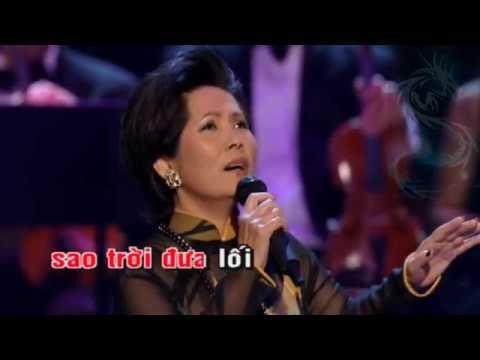 Tạ từ trong đêm Từ đó em buồn Karaoke Rồng Xanh
