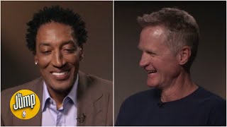 Scottie Pippen and Steve Kerr reminisce about their Bulls (and Blazers) days | The Jump