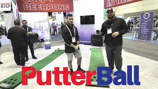 PutterBall - Golf and Beer Pong in one Incredible Game!