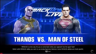THANOS VS SUPERMAN WWE 2K19 PARODY
