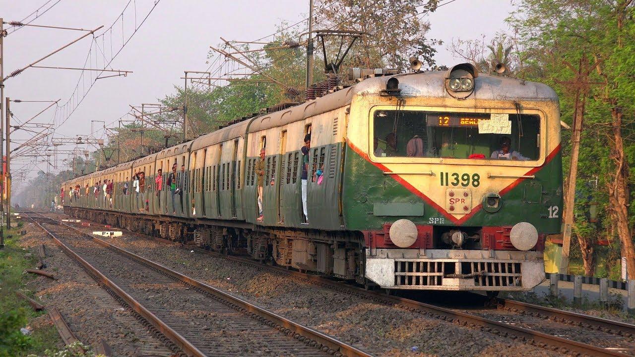 High Speed EMU of Eastern Railway- 31924 Gede Sealdah Local Train - YouTube