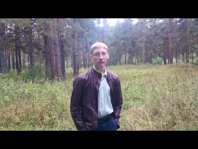 Иван Медянцев читает произведение «Слово» (Бунин Иван Алексеевич)