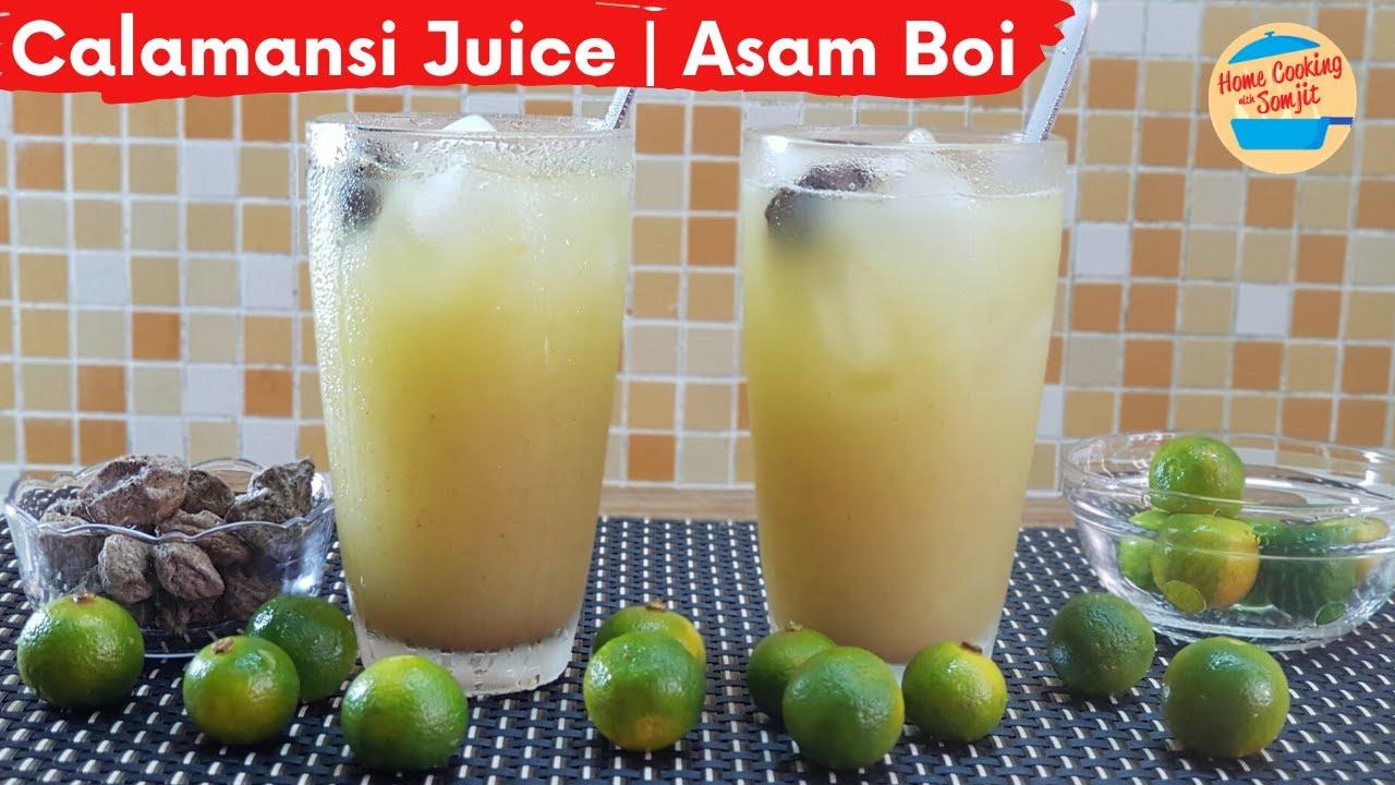 Perfectly Sour, Salty \u0026 Sweet Calamansi Juice Recipe