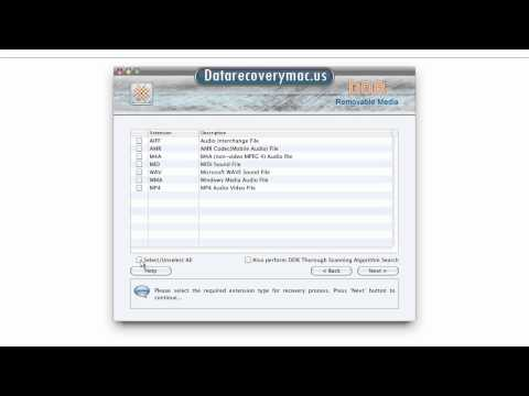 mac removable media data recovery software recover restore usb data storage device files folder