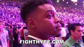 (EPIC!) ERROL SPENCE STOPS IN HIS TRACKS WHEN PACQUIAO VS. THURMAN SCORECARDS ANNOUNCED