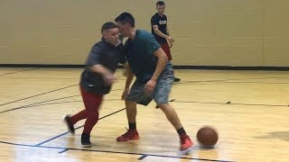 Professor 2v2 w/ Fight Then Embarrasses Ankles... Passes Out (Workout)