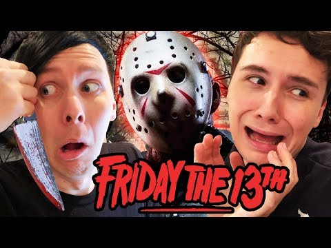 Download Youtube: Dan and Phil vs. JASON - Friday the 13th!