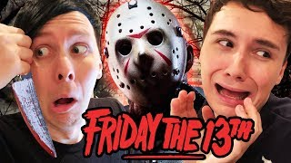 Dan and Phil vs. JASON - Friday the 13th!
