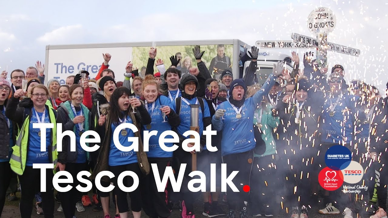 The Great Tesco Walk | We reached John O'Groats | Round-up