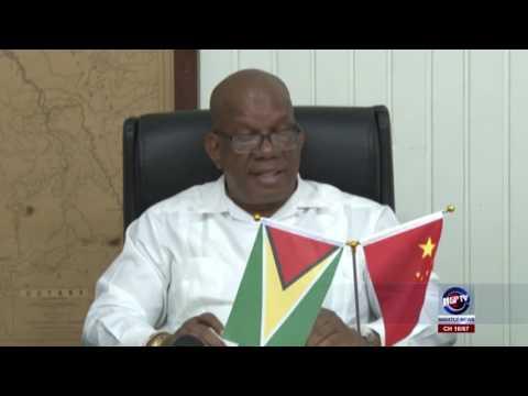 GUYANA INKS US$45M LOAN AGREEMENT WITH CHINA