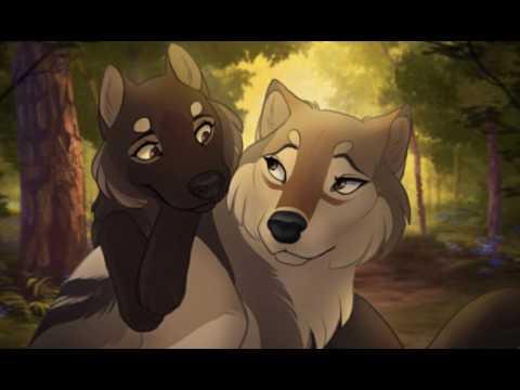 Irmãos Lobos Lobo alfa rei e loba solitária