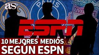 La ESPN saca la lista de los 10 mejores mediocentros del año: el Madrid se luce y el 1º es un tapado