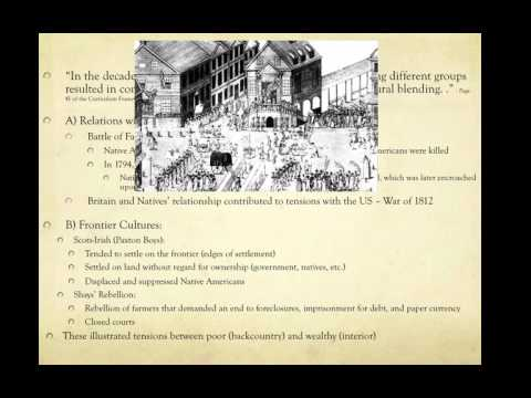 APUSH Review: Key Concept 3.3, revised (most up-to-date video)