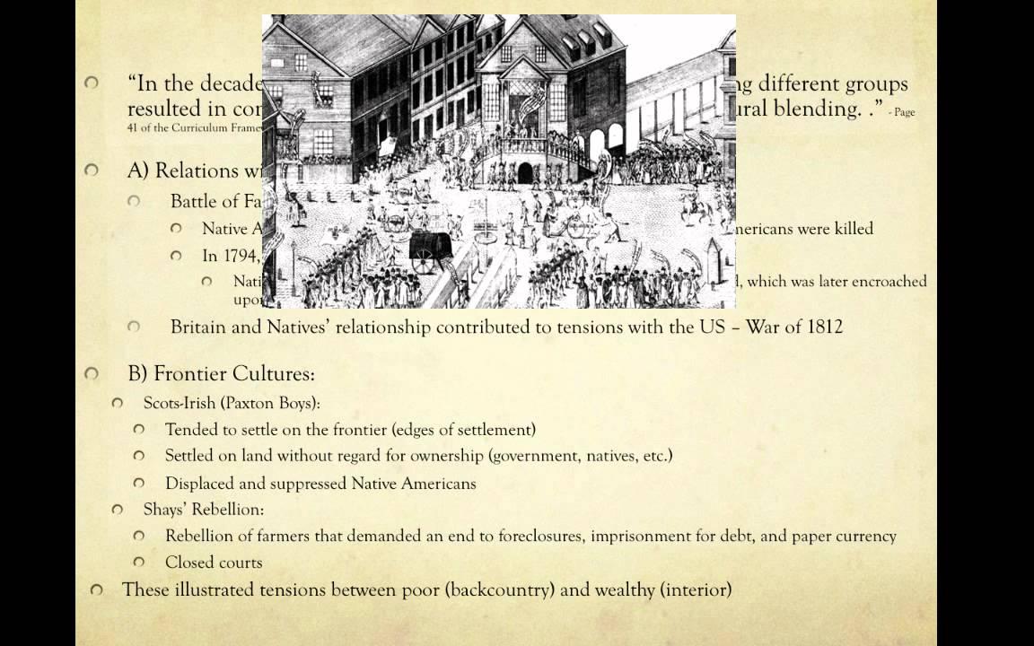 APUSH Period 3 (1754-1800)