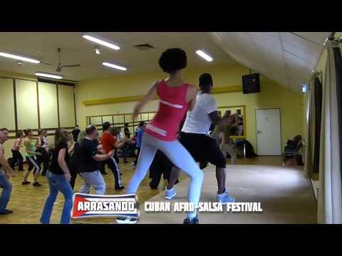 Arrasando Festival 2014 Solangel y Fredy