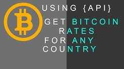 Get Bitcoin Rate Free | API | Bitcoin Rate Converter
