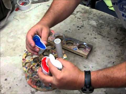 Three Color Resin Pen Blank Making Youtube