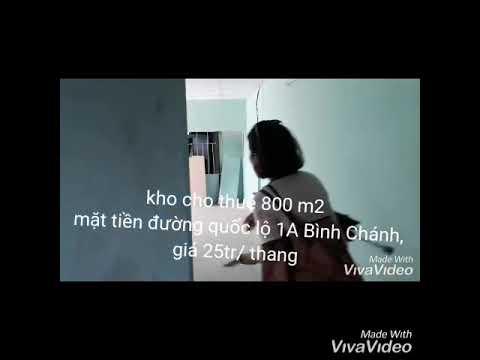 Cho thuê kho xưởng Bình Chánh giá rẻ. Quốc lộ 1A, Đoàn Nguyễn Tuấn.