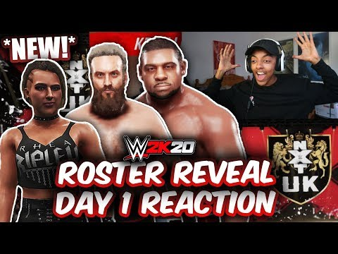 WWE 2K20 - ROSTER REVEAL DAY 1 REACTION! (RHEA RIPLEY, TRENT SEVEN, KEITH LEE, NXT UK & MORE!)