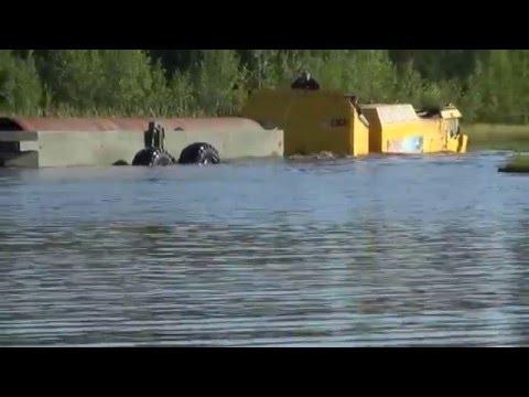 Прицеп плавающий к транспортерам типа ДТ-10П и ДТ-30П