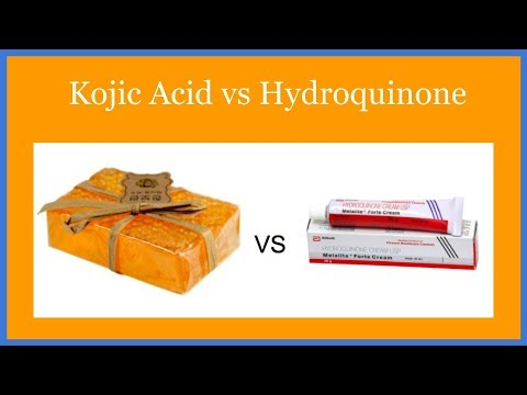 Kojic Acid vs Hydroquinone (The Key Differences)