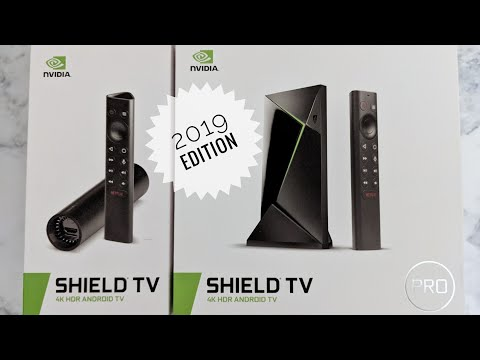 NVIDIA SHIELD TV / TV Pro 2019 Edition Unboxing & Impressions - Best Android TV Box Got Better 😀😍
